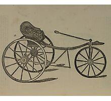 Vintage bike 6 Photographic Print
