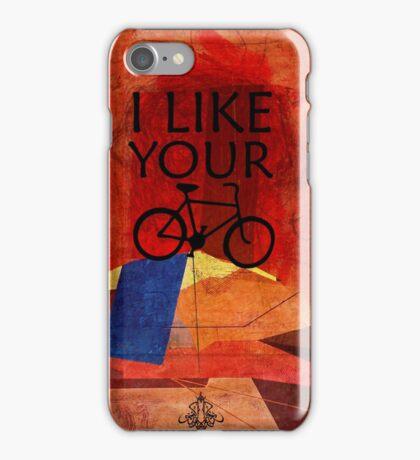 I like Your Bike iPhone Case/Skin