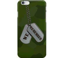 Patriotic Tags (iPhone Case) iPhone Case/Skin