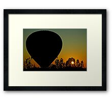 Hot And Cold Framed Print