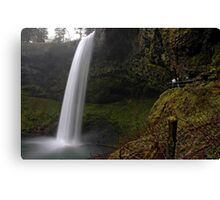 Shooting The Falls Canvas Print