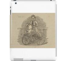 Vintage bike 8 iPad Case/Skin