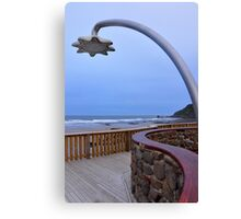Shower block, Godfrey's Beach, Stanley, Tasmania Canvas Print