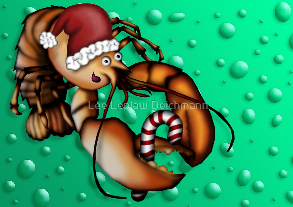 Lobster Claus by Lee Leplaw Deichmann