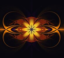 Curled Flower by Pam Amos