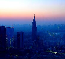 Tokyo after sunset by supergold