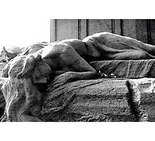 Maiden of the Père Lachaise Photographic Print