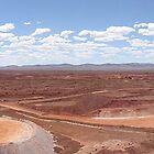 Open pit mine by AussieBryan