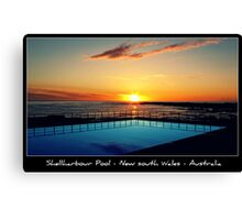 PC - Shellharbour Pool Canvas Print
