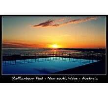 PC - Shellharbour Pool Photographic Print