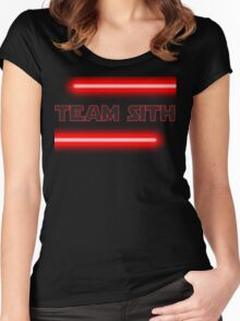 Team Sith Women's Fitted Scoop T-Shirt