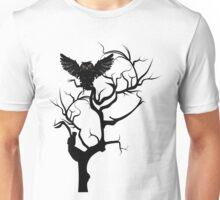 Black Owl 7 Unisex T-Shirt