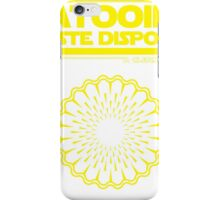 Tatooine Disposal iPhone Case/Skin