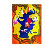 Rockstars-The Frocked Redheads Art Print