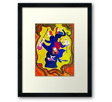 Rockstars-The Frocked Redheads Framed Print