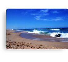 Stockton Bight Oceanfront Canvas Print