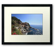 Breathtaking Riomaggiore Framed Print