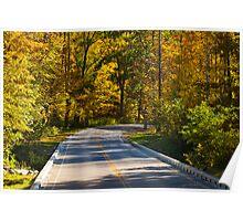 Autumn Drive Poster