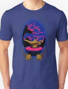 """Let's make some magic"" Sticker T-Shirt"
