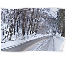 Winter Drive Poster