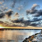 Fishing at Kurnell, Cronulla by Arfan Habib