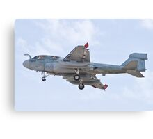 162939 EA-6B Prowler On Approach Canvas Print