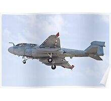 162939 EA-6B Prowler On Approach Poster