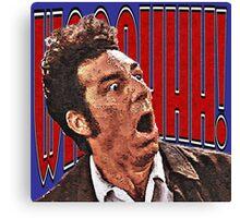 Shocked Kramer Canvas Print