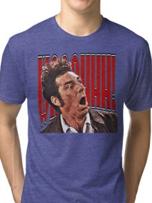 Shocked Kramer Tri-blend T-Shirt