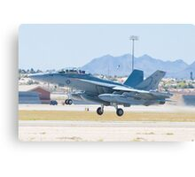 166895 EA-18G Growler Taking Off Canvas Print