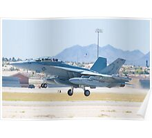 166895 EA-18G Growler Taking Off Poster