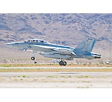 166897 EA-18G Growler Taking Off Photographic Print