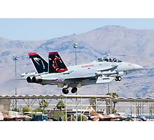 EA-18G Growler, 166894, Taking Off Photographic Print