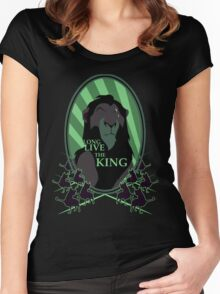 Long Live the King Women's Fitted Scoop T-Shirt