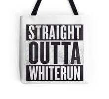 Straight Outta Whiterun  Tote Bag