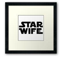 Star Wife Framed Print