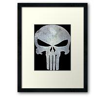 The Punisher Logo Framed Print
