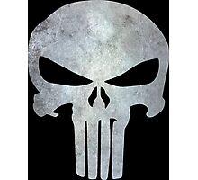 The Punisher Logo Photographic Print