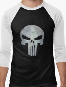 The Punisher Logo Men's Baseball ¾ T-Shirt
