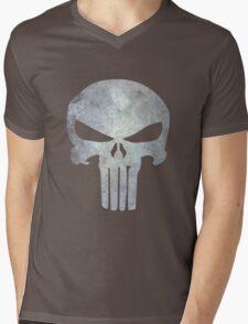 The Punisher Logo Mens V-Neck T-Shirt