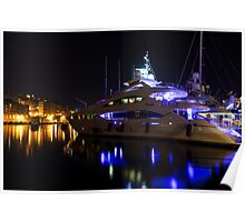 Reflecting on Malta - Grand Harbour Marina Poster