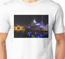 Reflecting on Malta - Grand Harbour Marina Unisex T-Shirt