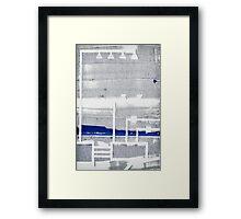 Urban Planning Framed Print