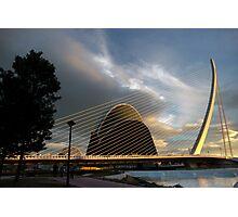 The bridge Assut de l'Or 5  Photographic Print