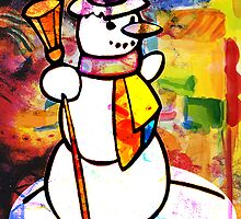 FROSTY THE SNOWMAN by Tammera