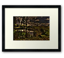 Dam Side Framed Print