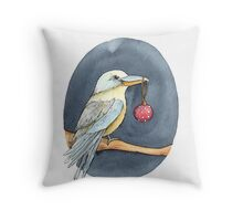 Christmas Kookaburra Throw Pillow