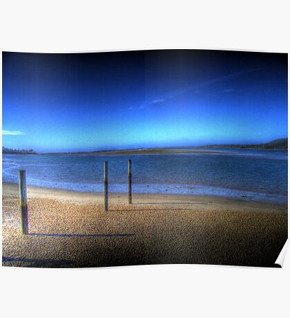 Tasmanian Water 3 Poster