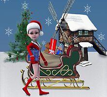 Santa's Helper by tapiona