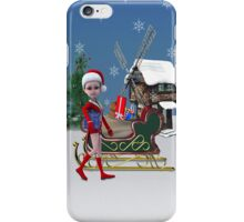 Santa's Helper iPhone Case/Skin